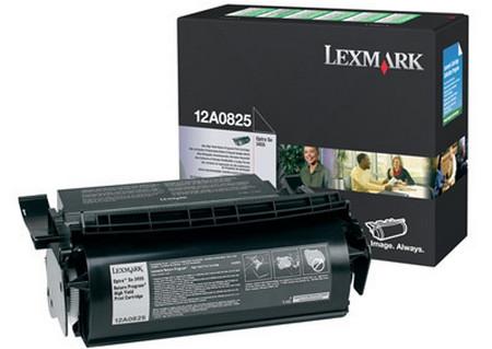 Comprar cartucho de toner 12A0825 de Lexmark online.