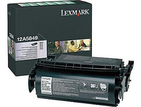 Comprar cartucho de toner 12A5849 de Lexmark online.