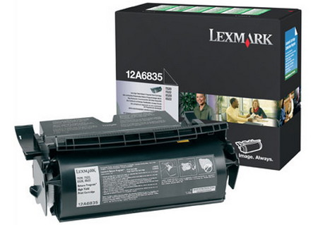 Comprar cartucho de toner 12A6835 de Lexmark online.