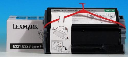 Comprar cartucho de toner 12A7405 de Lexmark online.