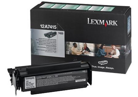 Comprar cartucho de toner 12A7415 de Lexmark online.