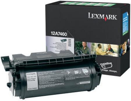 Comprar cartucho de toner 12A7460 de Lexmark online.