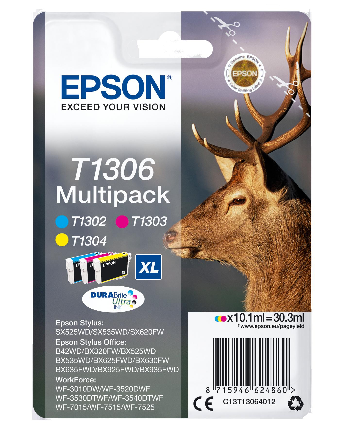 Comprar Cartucho de tinta C13T13064022 de Epson online.