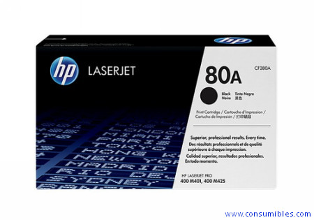 Comprar cartucho de toner CF280A de HP online.