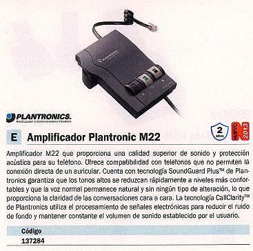 Comprar  137284 de Plantronics online.