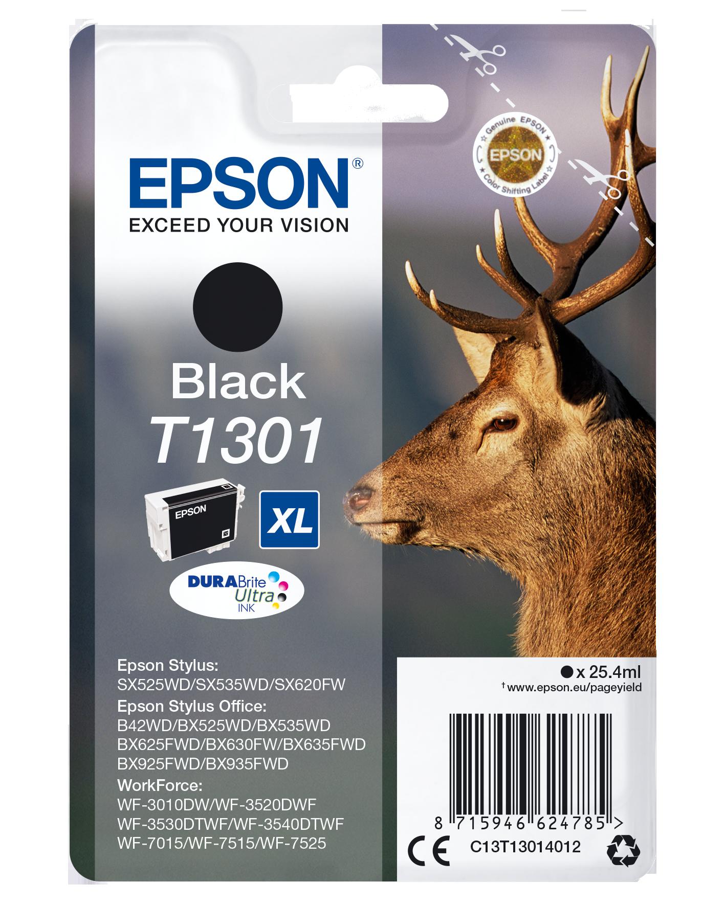 Comprar Cartucho de tinta C13T13014022 de Epson online.
