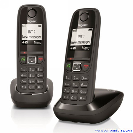 GIGASET TELEFONO INALAMBRICO AS405 DUO