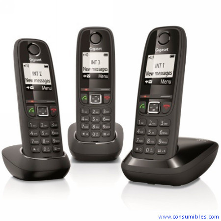 GIGASET TELEFONO INALAMBRICO AS405 TRIO