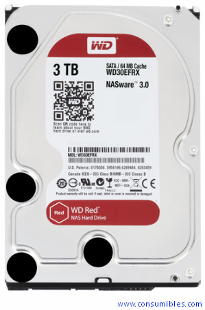 Comprar Componentes integración WD30EFRX de Western Digital online.