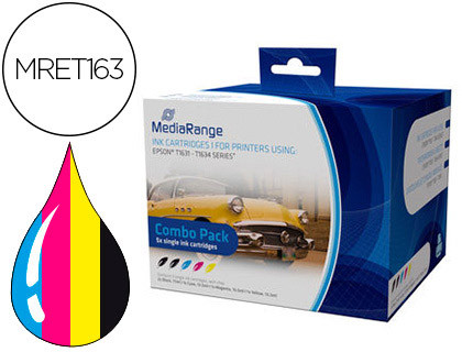 Comprar Cartucho de tinta MRET163 de MediaRange online.