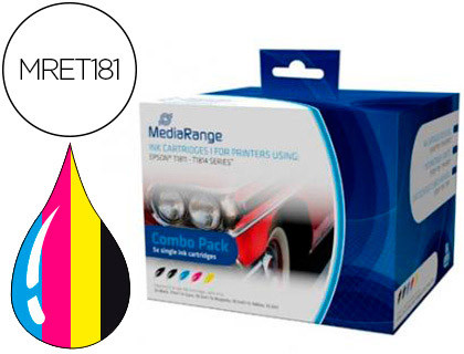 Comprar Cartucho de tinta MRET181 de MediaRange online.