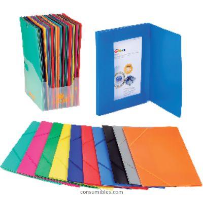 Comprar Carpetas con gomas polipropileno 151309 de Carchivo online.