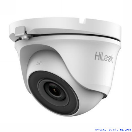 CAMARA HILOOK T1XX-M SERIES IR MINI TURRET / RES HD1080P /LENTE FIJA 2.8/3.6/6MM /METALICA /IP66 (TH