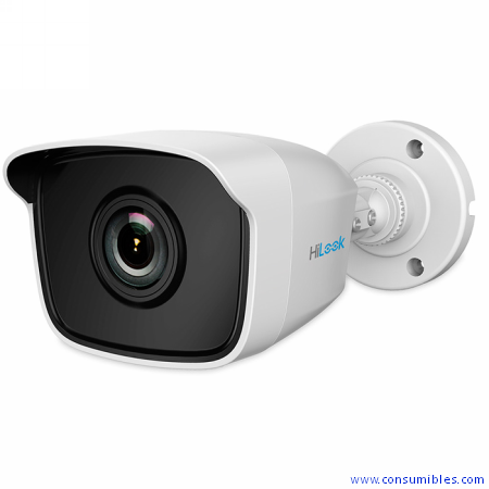 CAMARA HILOOK B1XX-M SERIES IR MINI BULLET / RES HD1080P /LENTE FIJA 2.8/3.6/6MM /METALICA /IP66 (TH