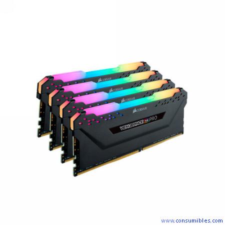Comprar  CMW64GX4M4C3200C16 de Corsair online.