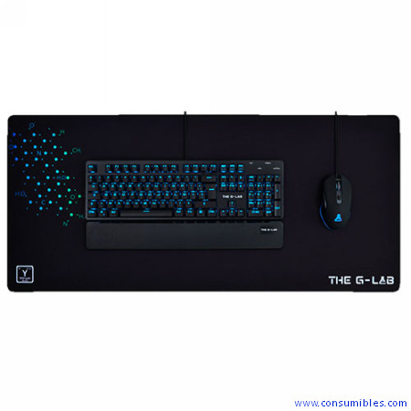 THE G-LAB ALFOMBRILLA GAMING YTTRIUM - TELA 900X400X4MM (PAD-YTTRIUM)