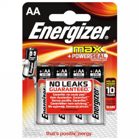 Baterias BLISTER 8 + 4 PILAS MAX TIPO LR6 (AA) ENERGIZER