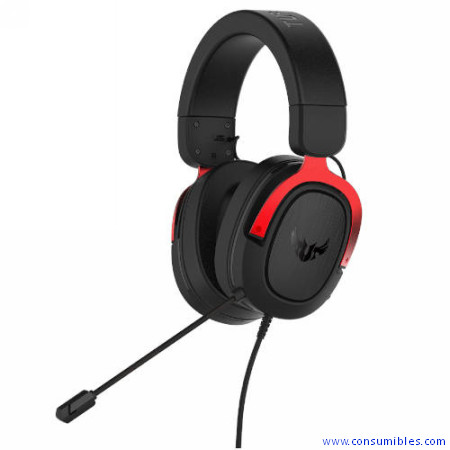 AURICULARES TUF GAMING H3 RED ASUS