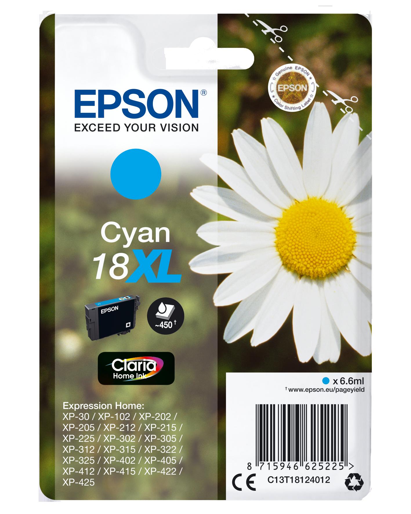 Comprar cartucho de tinta C13T18124012 de Epson online.