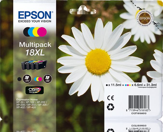 Comprar Cartucho de tinta C13T18164022 de Epson online.