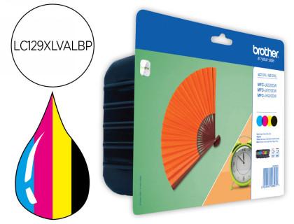 Cartucho de Tinta Rainbow Pack negro-Color Alta Capacidad LC-129XLVAL