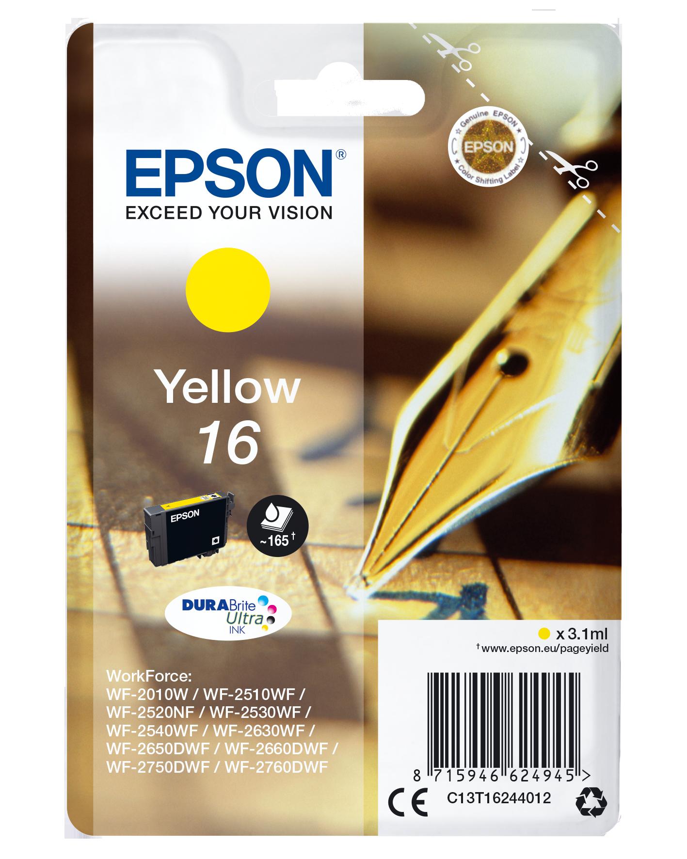Comprar Cartucho de tinta C13T16244012 de Epson online.