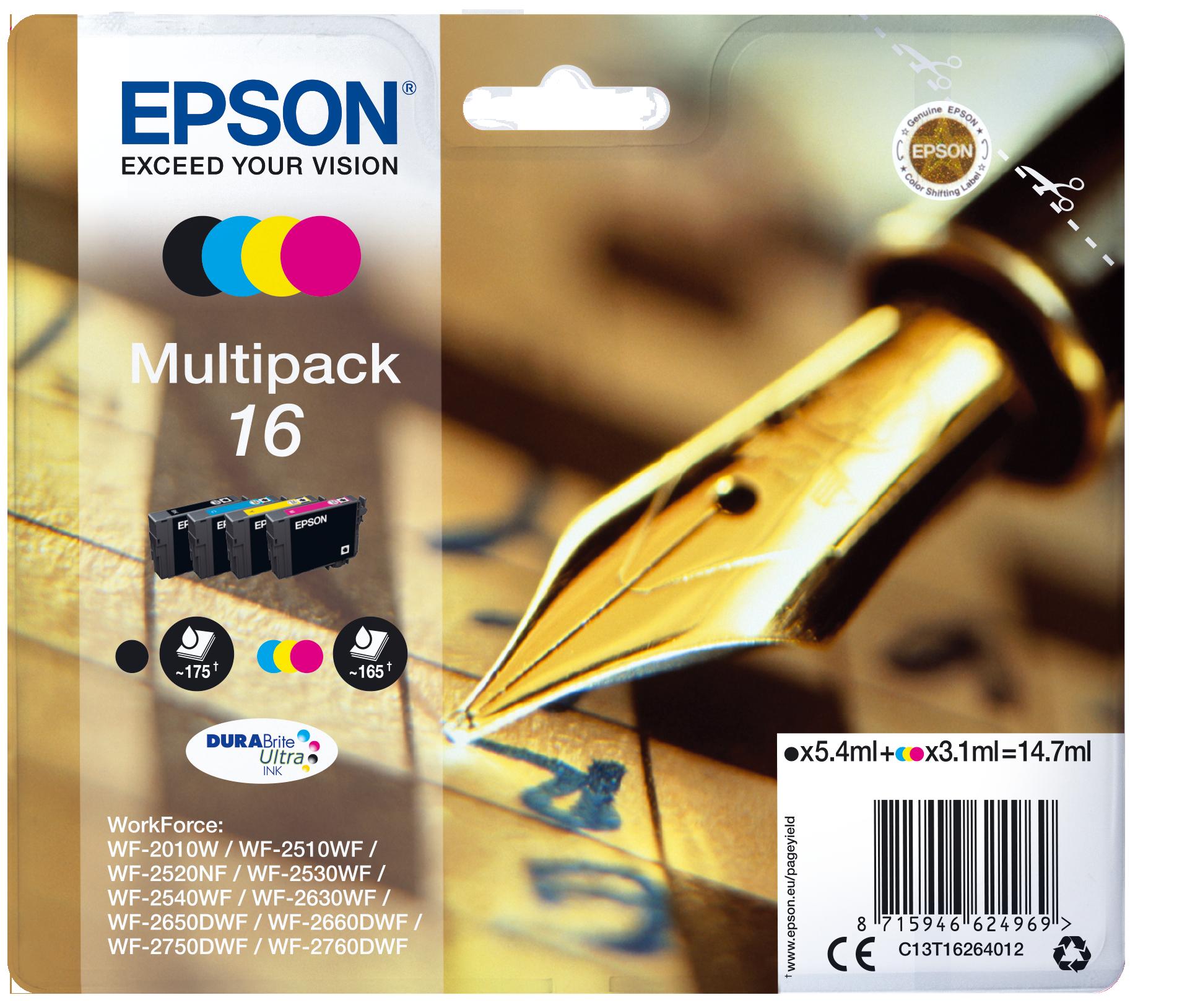 Comprar Cartucho de tinta C13T16264022 de Epson online.