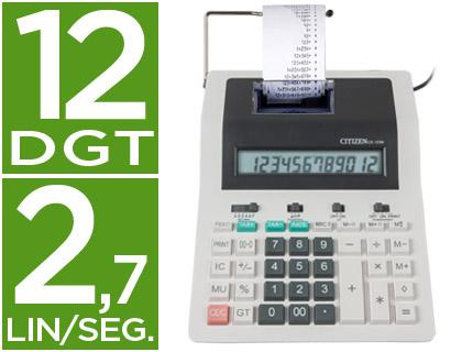 Calculadoras impresoras CITIZEN CALCULADORA CITIZEN IMPRESORA PANTALLA PAPEL CX-123 N 12 DIGITOS