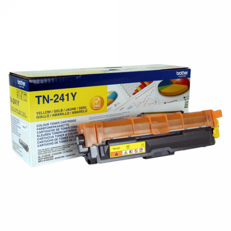 Comprar cartucho de toner TN241Y de Brother online.