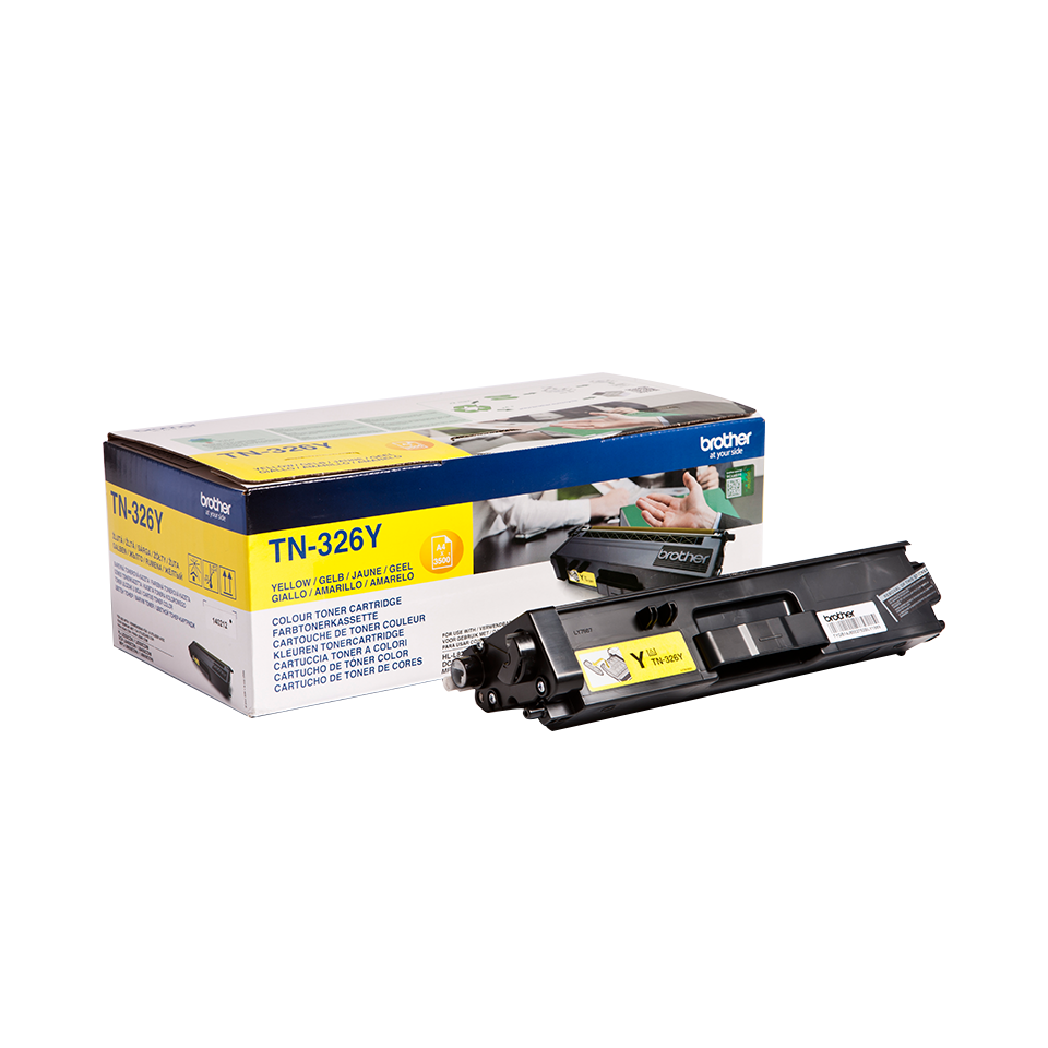 Comprar cartucho de toner TN326Y de Brother online.