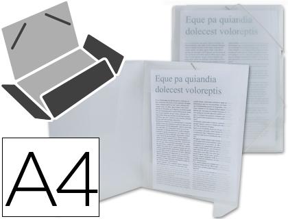 DIN A4 BEAUTONE CARPETA BEAUTONE GOMAS SOLAPAS34964 POLIPROPILENO DIN A4 IN COLOR A