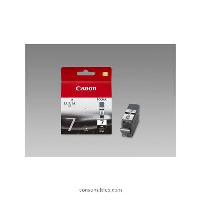 CANON CARTUCHO DE TINTA NEGRO PGI-7BK 2444B001