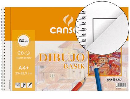 ENVASE DE 10 UNIDADES CANSON PAPEL 20 HOJAS A4 130 GR 200408061