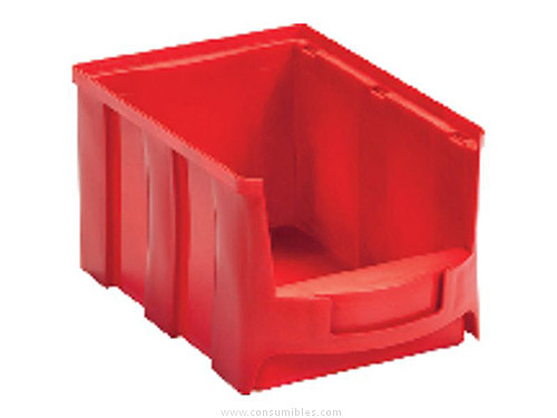VISO BANDEJA STAR APILABLE 233X154X125 MM ROJO 4L STAR3R
