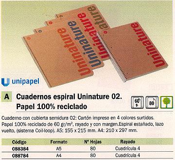 Comprar Cuadernos con espiral 088784 de Guerrero online.
