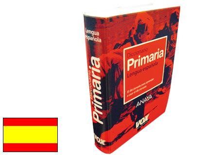 VOX DICCIONARIO VOX PRIMARIA -ESPAÑOL
