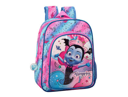 SAFTA VAMPIRINA MOCHILA GUARDERIA ADAPTABLE A CARRO 220X270X100 MM