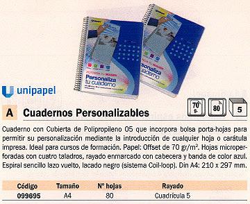 Comprar Cuadernos digitales 099695 de Uni-Extra online.