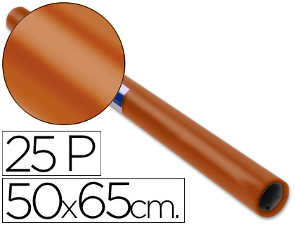 SADIPAL PAPEL CHAROL 25 HOJAS MARRÓN 12902