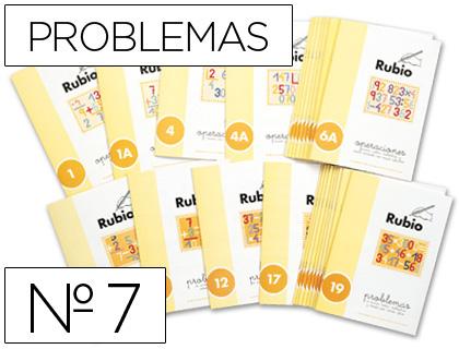 Problemas ENVASE DE 10 UNIDADES CUADERNO RUBIO PROBLEMAS Nº 7