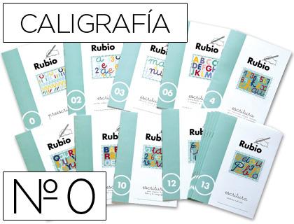 Caligrafia ENVASE DE 10 UNIDADES CUADERNO RUBIO CALIGRAFIA Nº 0