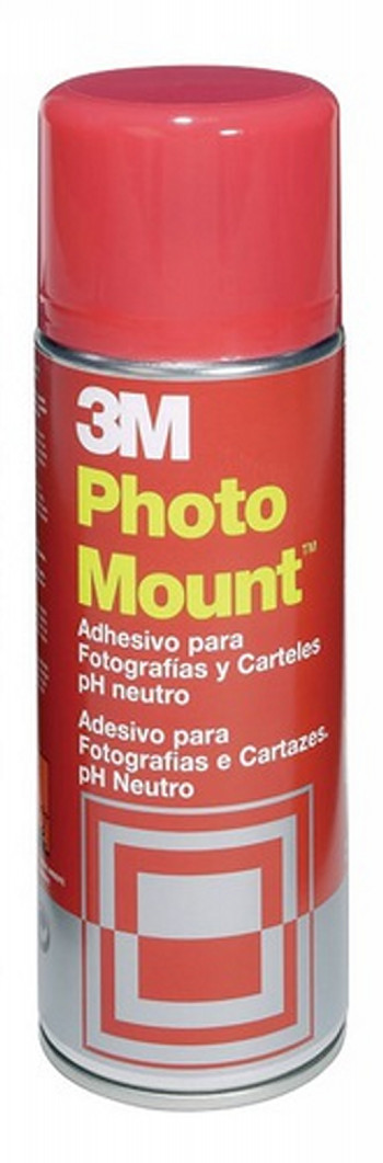 PEGAMENTO SCOTCH SPRAY PHOTO MOUNT 400 ML ADHESIVO PERMANENTE YP208060639 (2639-0-400 ML)