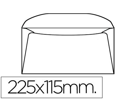 Sobres de papel SOBRE LIDERPAPEL DL+ -BOLSA DE 10 115X225 MM