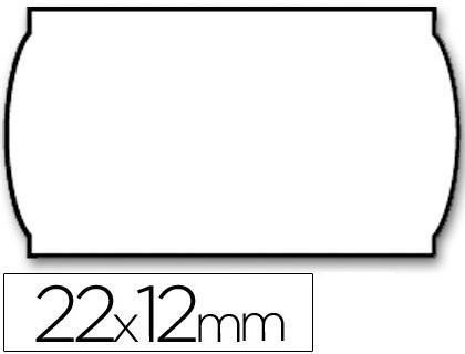 Etiquetas ETIQUETAS METO ONDULADAS 22 X 12 MM LISA REMOVIBLE BL. -ROLLO 1500 ETIQUETAS