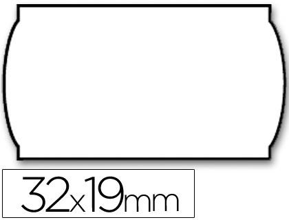 Etiquetas ETIQUETAS METO ONDULADAS 32 X 19 MM LISA REMOVIBLE BL. -ROLLO 1000 ETIQUETAS