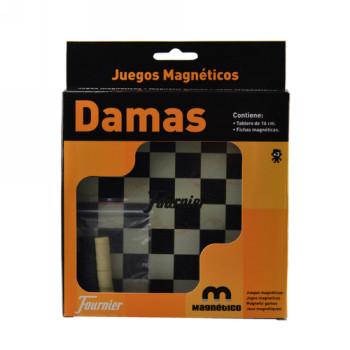 MARCA BLANCA JUEGOS DE MESA DAMAS MAGNETICO20X16,1X2,4