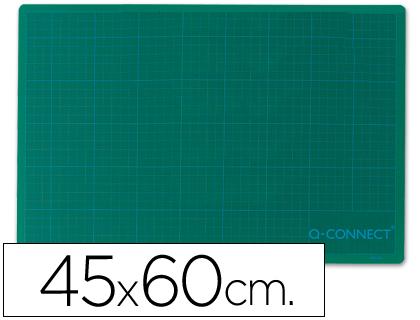 Planchas corte PLANCHA PARA CORTE Q-CONNECT -TAMAÑO 450X600 MM A-2 VERDE