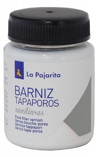 ENVASE DE 12 UNIDADES BARNIZ LA PAJARITA TAPAPOROS 35ML 1212/22