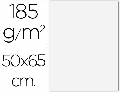 CANSON CARTULINA IRIS 25 HOJAS 50X65 CM BLANCO 185 GR 200040218