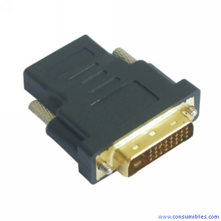 Nanocable ADAPTADOR DVI 24+1/M-HDMI/H